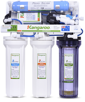 Máy lọc nước Kangaroo 5 lõi KG102 Không Vỏ
