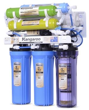 Máy lọc nước Kangaroo 8 lõi KG108 Không Vỏ